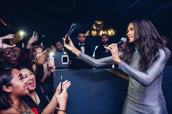 Ciara performing at Play