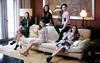 From left: Tanyatip Chearavanont, Jasmine Chen (standing), Amanda Cheung, Tiffany Chan and Rebekah Yeoh