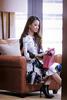 Rebekah Yeoh. Outfit: Louis Vuitton. Watch, bracelet and necklace: Louis Vuitton. Earring: Rebekah's own