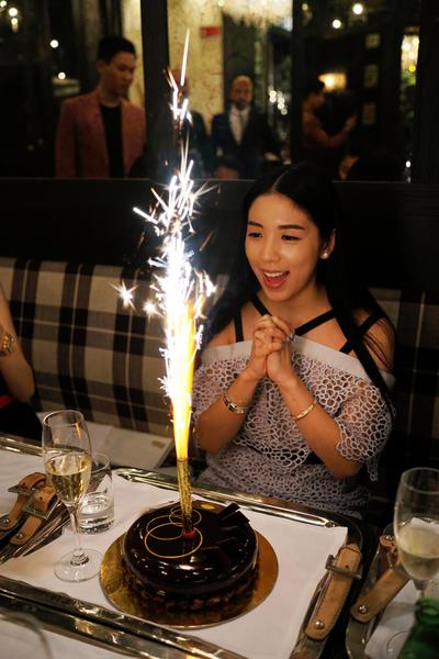Carmen Yim celebrates her birthday