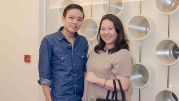Jonathan Cheung and Natalie Chan