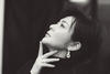Rosamund Kwan wearing jewellery by Hearts On Fire