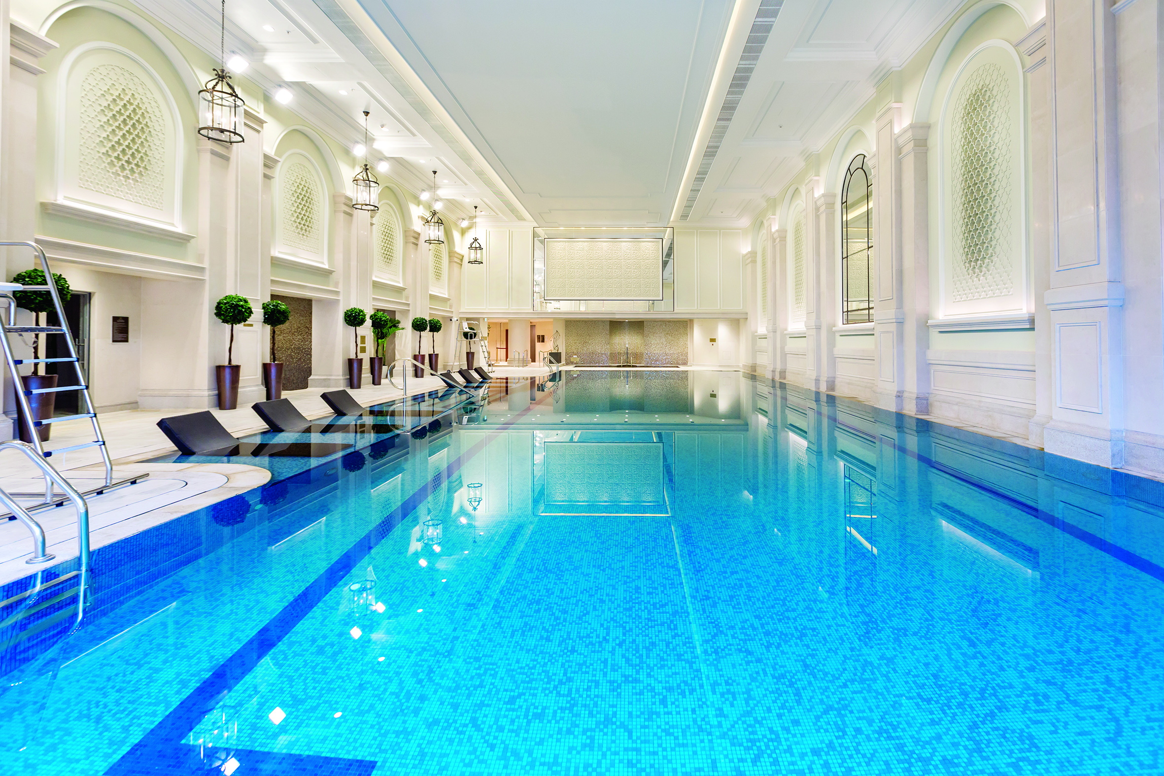 The swimming pool at Mayfair by the Sea