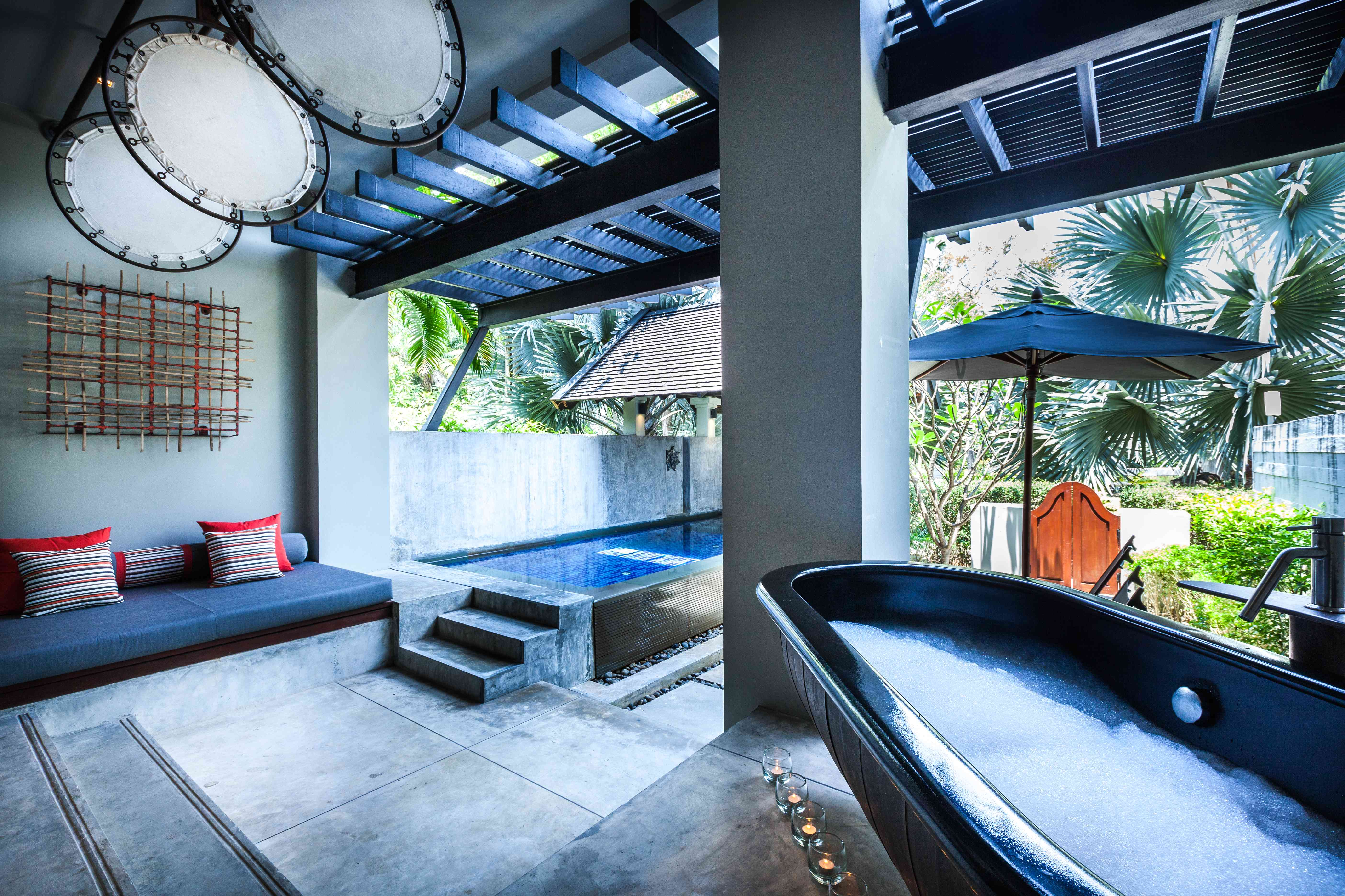 A pool suite at The Slate Phuket