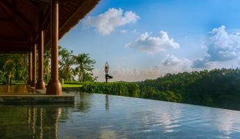 Yoga at Mandapa, a Ritz-Carlton Reserve