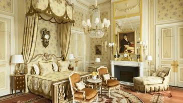 A Suite Impériale at the Ritz Paris. Photo: Vincent Leroux