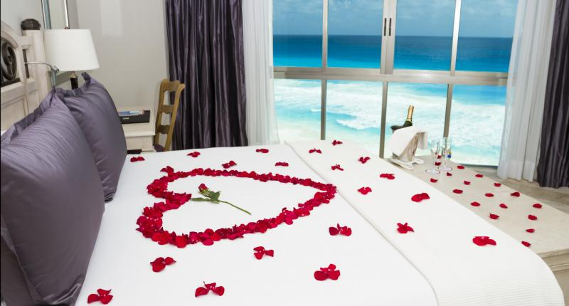 The Caribe Suite at Sandos Cancun