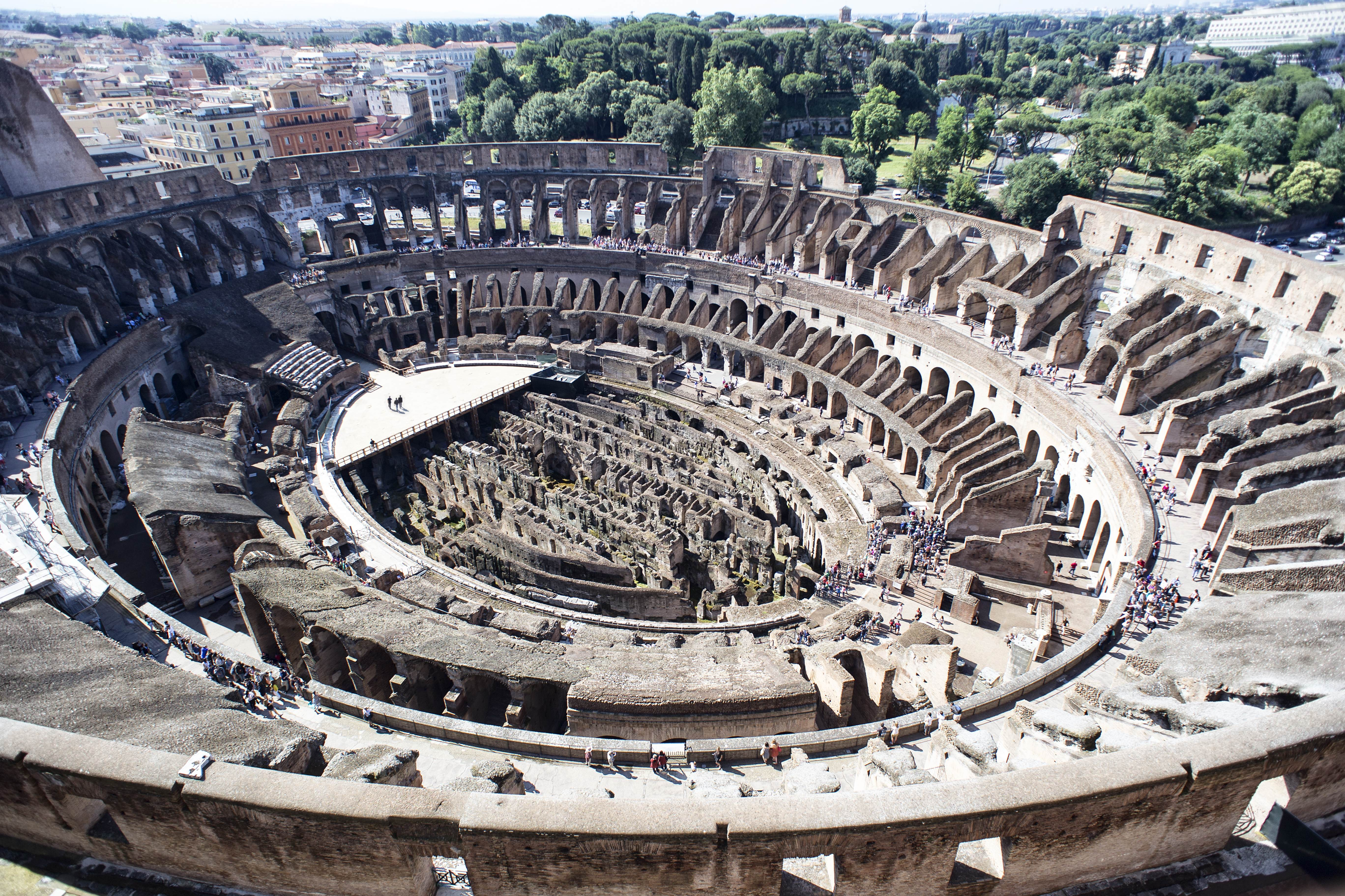 Tod's completes first phase of Colosseum restoration