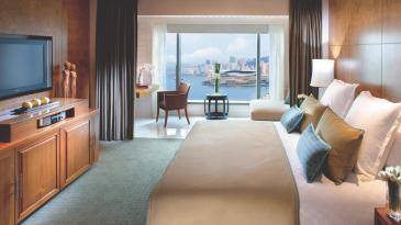 Harbour View Room at the Mandarin Oriental, Hong Kong