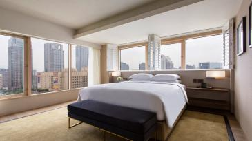 A Grand Executive View Suite at the Grand Hyatt Taipei