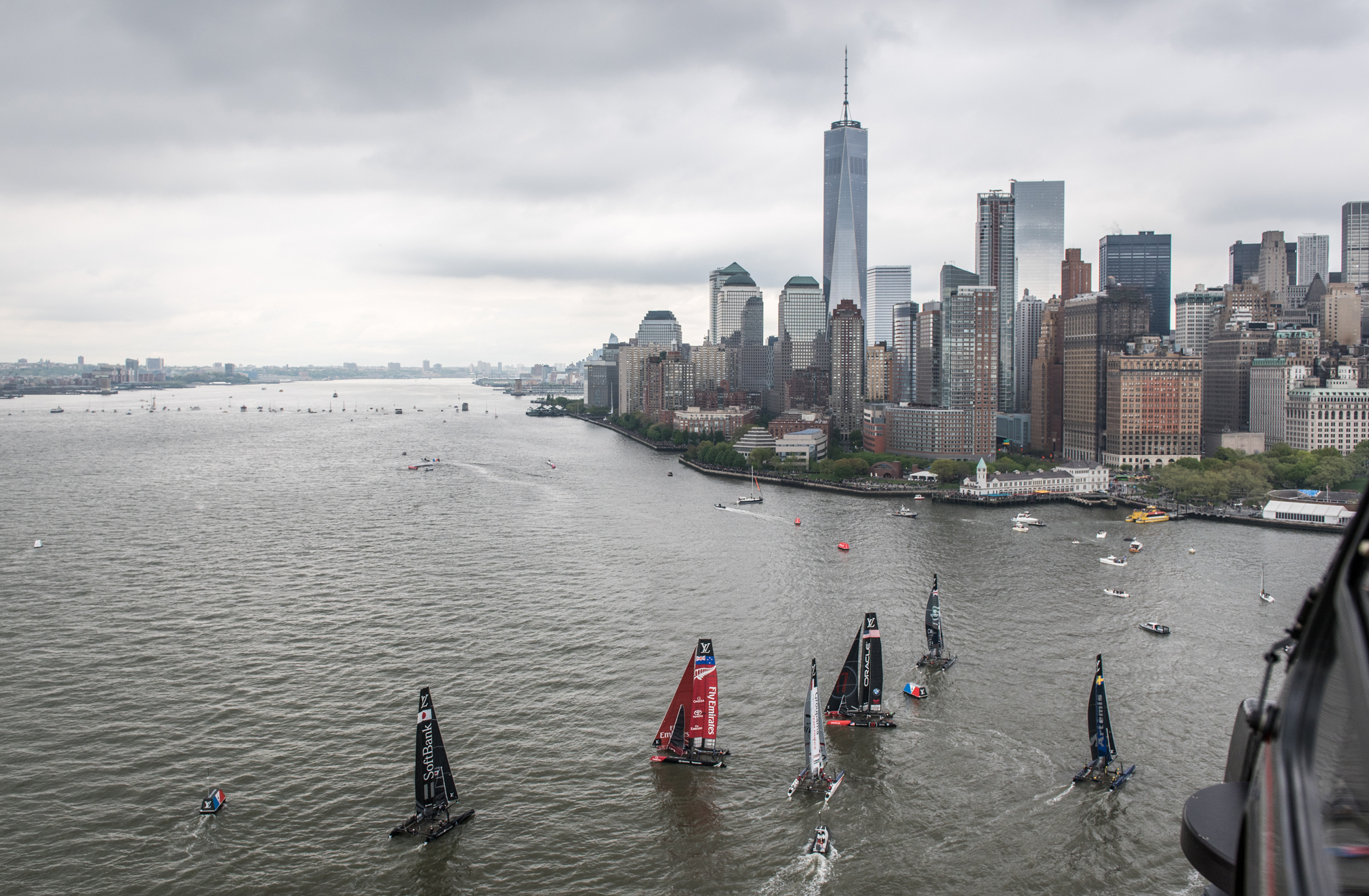 A day at the Louis Vuitton America's Cup