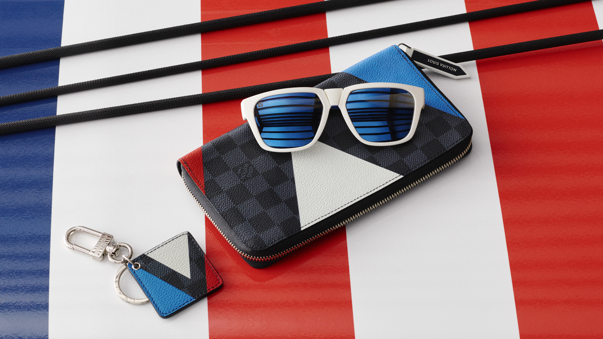 Items from the Louis Vuitton America's Cup collection