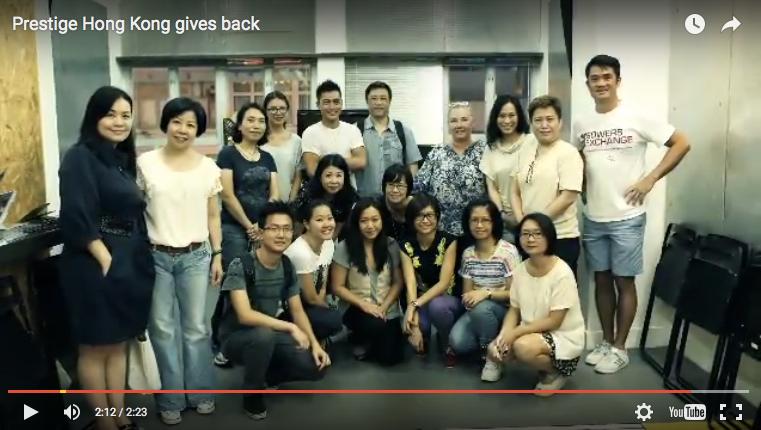 Prestige Hong Kong Gives Back