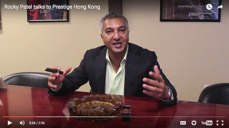 Rocky Patel talks to Prestige Hong Kong: Part 2
