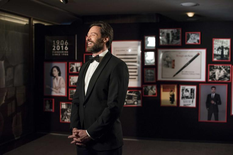 HUGH JACKMAN AT THE ANNIVERSARY EVENT