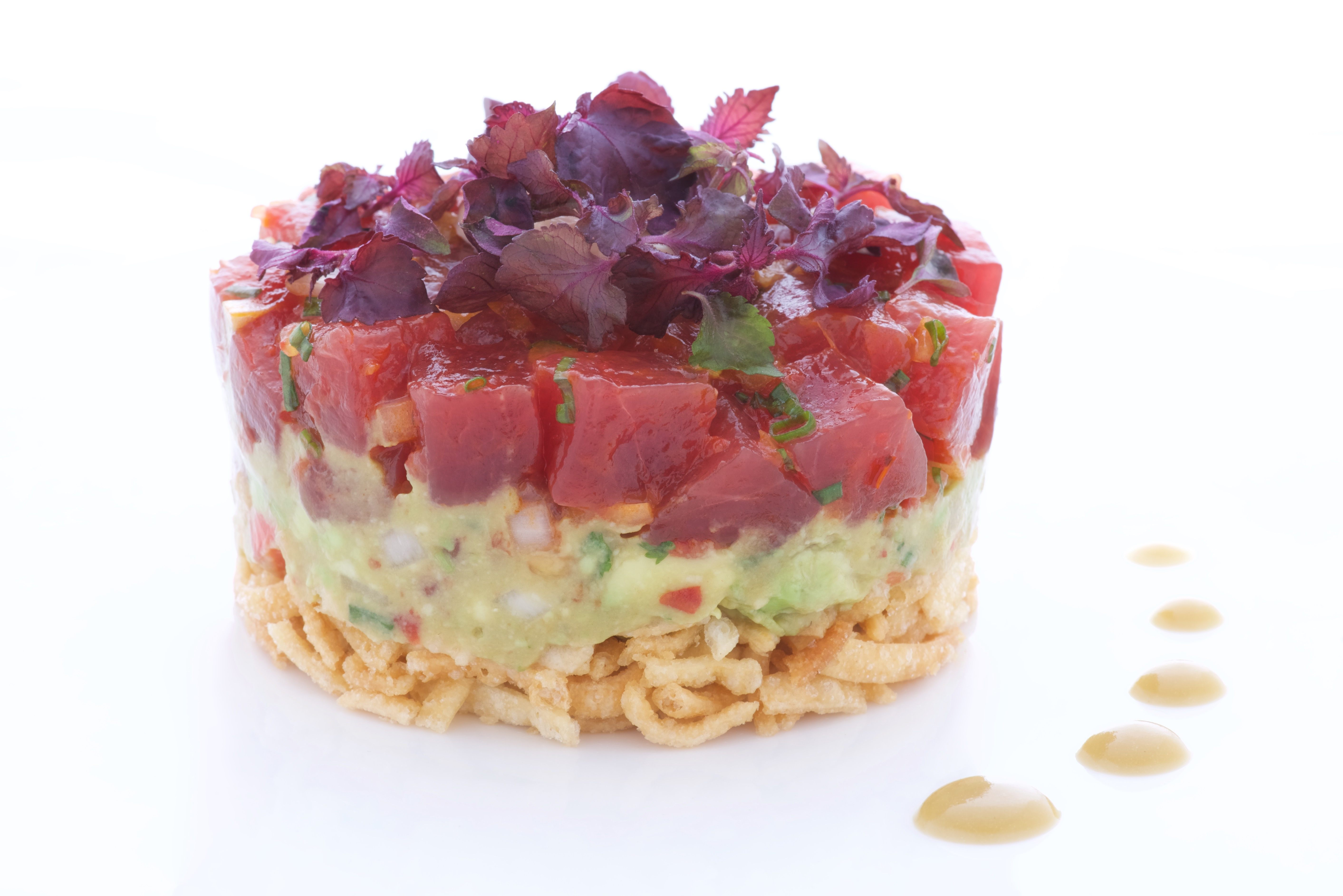 """Ahi"" tuna poke from Alan Wong's Shanghai"