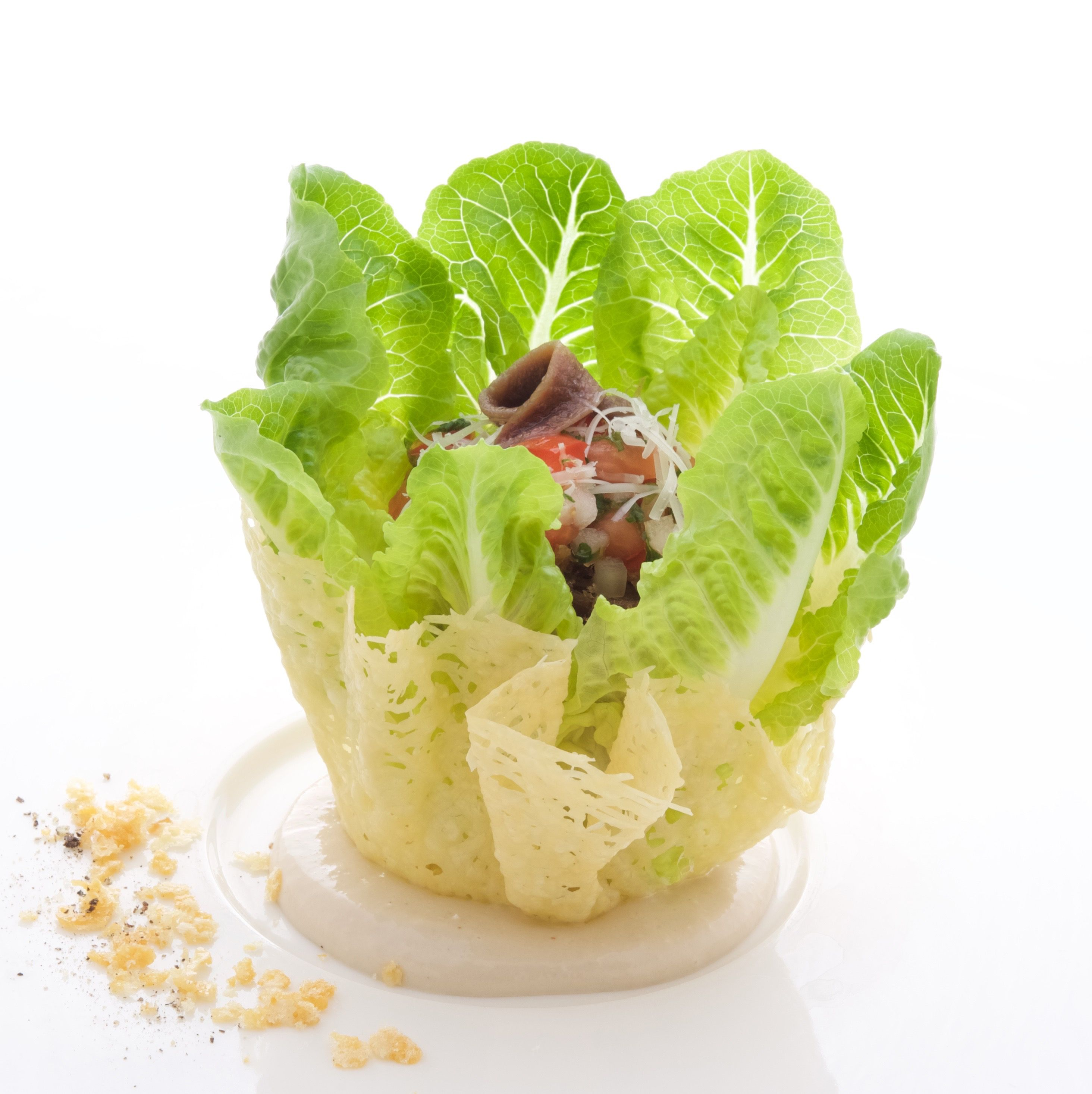 Baby Romaine Salad at The Pineapple Room by Alan Wong