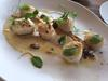 Scallops with cauliflower, raisins, sauternes, dukkha