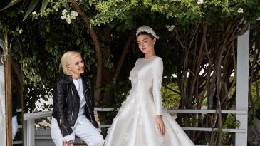 Miranda Kerr & Maria Grazia Chiuri