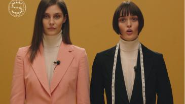 "inside stella mccartney's ""how to take care for your tailoring"" video"