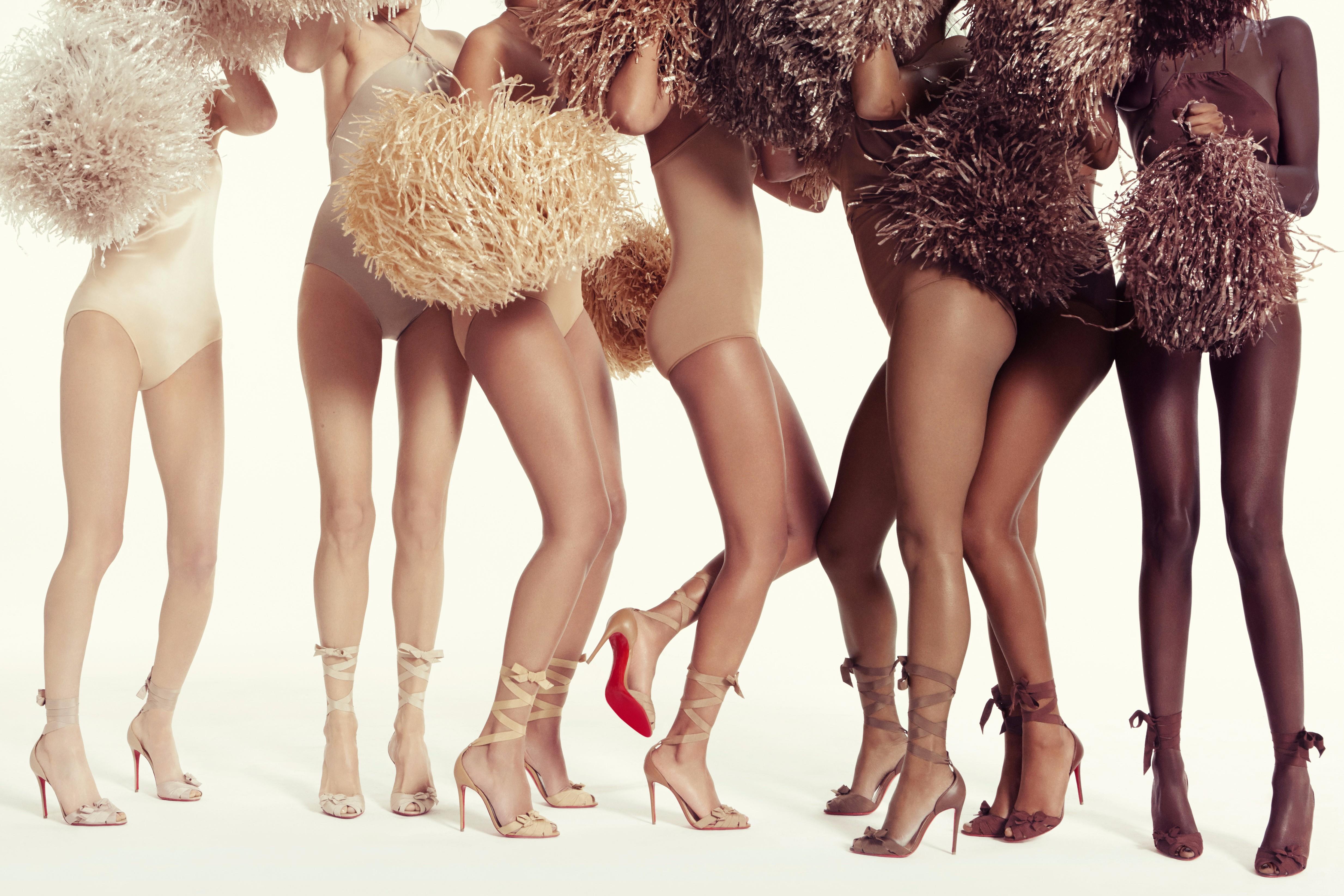 Louboutin Goes Nude