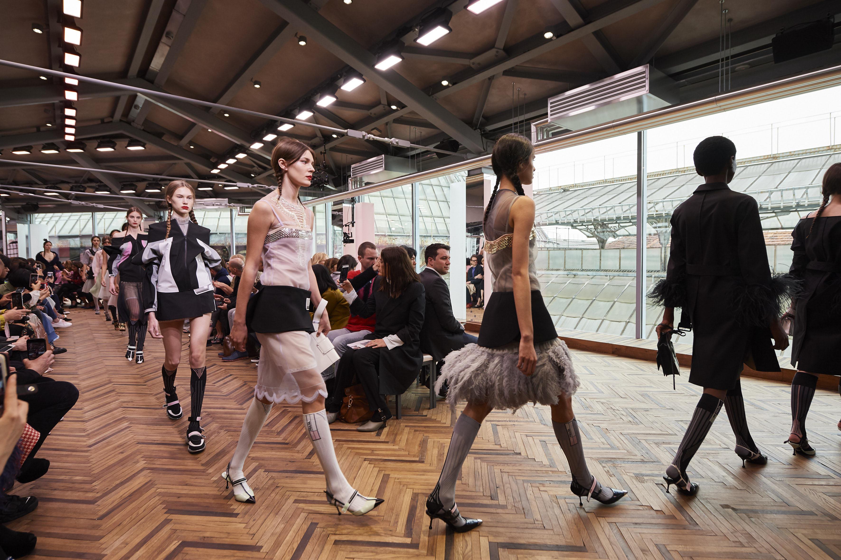 Prada Shows Resort 2018 At New Space