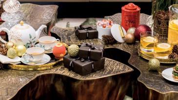 Christmas tea table by Prodotti