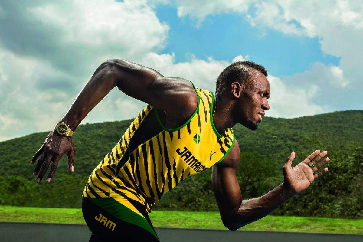 Hublot Celebrates Usain Bolt