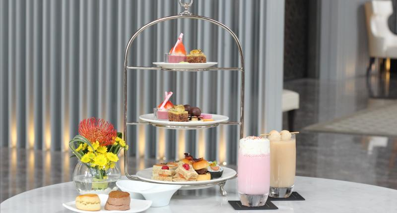 High tea menu at Keraton