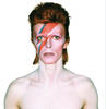A 1973 PHOTOGARPH FROM THE SHOOT FOR THE COVER OF ALADDIN SANE