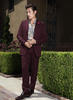 SUIT AND SHOES: BURBERRY PRORSUM; SHIRT: BOTTEGA VENETA