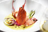 THE LOBSTER DISH FROM THE INTERCONTINENTAL
