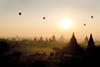 BALLOONS OVER BAGAN AT SUNRISE; PHOTO: SCHNUPUS / / FLICKR / GETTY IMAGES