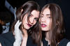 MODELS BACKSTAGE AT THE VERA WANG AUTUMN/WINTER 2013 FASHION SHOW