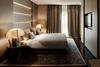 A BEDROOM AT ARMANI HOTEL MILANO