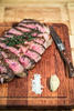STOCKYARD RIB-EYE COOKED MEDIUM RARE