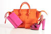 BAG AND POUCH: CELINE; PURSE: COACH; SHOE: LANVIN