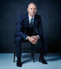 MICHAEL KEATON; SUIT, SHIRT AND SHOES: DOLCE & GABBANA; TIE: TOM FORD