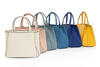 A DELVAUX LE BRILLANT BAG AND A SERIES OF VALEXTRA TRIENNALE BAGS