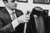 BRIONI'S CHIEF MASTER TAILOR ANGELO PETRUCCI AT WORK