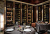 WALLS LINED WITH WINES; PHOTO: SIMON J NICOL