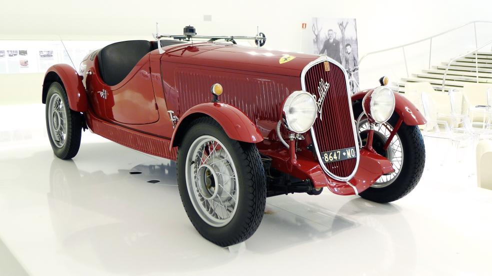 A 1936 Fiat Balilla Coppa D Oro In Ferrari Colours A