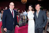 PRINCE ALBERT II WITH DEBORAH VALDEZ-HUNG AND STEPHEN HUNG