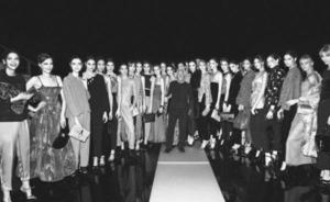 Mr Armani with 20models FW15