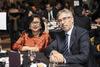 Rafidah Aziz and Daniel Truchi