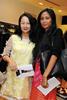 Gillian Tay and Deborah Tawi