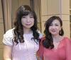 Sharon Heng and Renee Tan