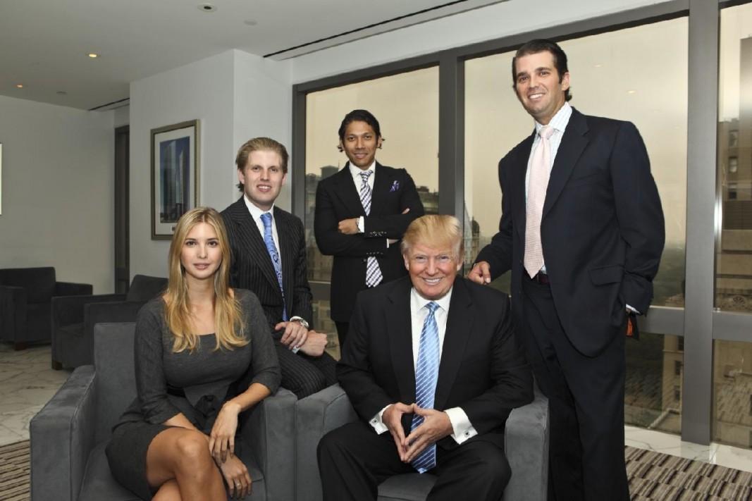 Century Properties Robbie Antonio and the Trump family ...