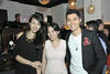 Talenia Phua Gajardo, Stephanie Chai and Henry Golding