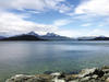Looking across the Beagle channel to Cape Horn